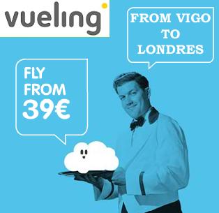 VUELING: VIGO-LONDRES