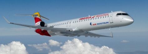 CRJ1000 Iberia Regional Air Nostrum