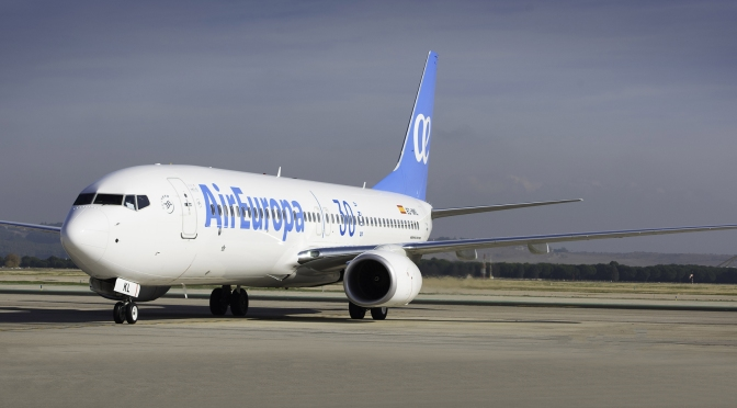 AIR EUROPA REFUERZA (AUN MAS) LA RUTA A MADRID